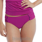 Panache Veronica Gathered Bikini Brief/Bottoms Magenta SW0649 NEW Select Size