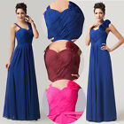 Vintage ❤ Long Chiffon Evening Formal Party Ball Gown Prom Bridesmaid Dress 6-20