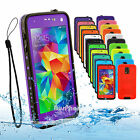 Waterproof Dirtproof Snowproof Heavy Duty Hard Case Cover For Samsung Galaxy S5