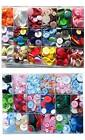 Buttons mixed lots of colours choices 60g larger size bags available