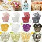 12/24x Cake Cupcake Wrappers Wraps Cases Wedding Party Birthday Baby Shower Xmas