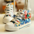 Autumn Child Girls Kids Boys Baby Princess Floral Lace Bowknot High Canvas Shoes