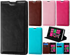 For Nokia Lumia 521 Premium Wallet Case Pouch Flap STAND Cover + Screen Guard