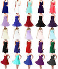 STOCK Luxury New Formal Evening Ball Gown Party Prom Bridesmaid Dress Size 6-18