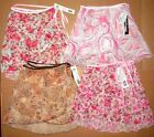 NWT Body Wrappers BALLET WRAP SKIRT Ladies Szs  4 Prints (fits girls large too)