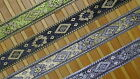 "3 Yd Jacquard Trim 1.20"" wide Woven Border Sew Embroidered Ribbon Lace T855"