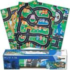 Kids Childrens Boys Car & Road Play Mat Roll Up Bithday Xmas Gift Role Play Toy