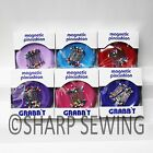GRABBIT MAGNETIC SEWING PIN CUSHION HOLDER + 50 PINS QUILTING SCRAPBOOKING