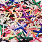 3mm Satin Ribbon Bows 30pk 50pk or 100pk 21 Colours - Free UK Post