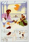 1978 New Orleans Jazz Festival Poster A3/A2/A1 Print