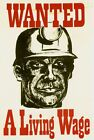 1972 National Union of Mineworkers NUM Trades Union Poster A3/A2/A1 Print