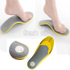 Pair Orthotic Arch 3D Premium Comfortable Shoes Insoles Inserts High Support Pad
