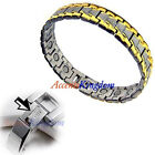 Men's Italian Style Magnetic Therapy Golf Bracelet  D