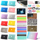 """4in1 Multicolor Rubberized Hard Case Cover for Macbook Pro 13/15""""Air 11""""/13""""inch"""