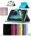"Qualified Leather Case Cover +Gift For 10.1"" RCA RCT6103W46 Android Tablet GB8"