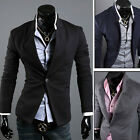 BIG CHEAP Top Designer Men's Fashion New Suit Casual Jacket Coats Outwear S M L