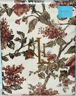 "RALPH LAUREN TABLECLOTH GRACE FLORAL RUST GREEN LINEN 70 Rd, 104"" or 120"" AUTUMN"