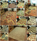 Luxurious Thick 100% New Zealand Wool Rug Small Large XL Loop Pile Quality Mats