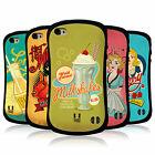 HEAD CASE DESIGNS VINTAGE ADS SERIES 1 HYBRID TPU BACK CASE FOR APPLE iPHONE 4S