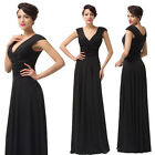 CHEAP Evening Party Gown Formal Junoesque Graduation Pageant Cocktail Dress 6-20
