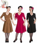 HELL BUNNY 40s victory JUNE wartime vintage style DRESS