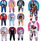 Childrens Kids Boys Girls Official Character Onesies Fleece All In One Pyjamas