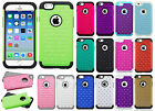 Apple iPhone 6 / 6s HYBRID IMPACT Dazzling Diamond Case Cover + Screen Protector