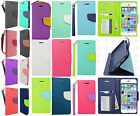 For Apple iPhone 6 / 6s Premium Leather 2 Tone Wallet Case Pouch Flip Cover