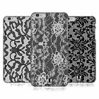 HEAD CASE DESIGNS BLACK LACE CASE COVER FOR APPLE iPHONE 6 PLUS 5.5
