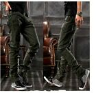 Men's Fashion Casual Military Army Hip Hop Dance Leisure Pants Trousers Outdoor