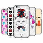 HEAD CASE DESIGNS PRINTED CATS SERIES 1 CASE COVER FOR APPLE iPHONE 6 4.7