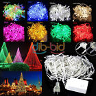 10M 100 20M 200 LED Waterproof Christmas Fairy Party String Colorful Light Decor