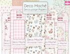 *OVER 30 BRAND NEW STUNNING DECO MACHE DECOPATCHING PAPERS- 3 SHEETS PER PACK *