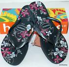 HAVAIANAS Genuine NEW Ladies Slim THONGS FLIP FLOPS SEASONS dark grey GREY Surf