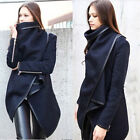 Women Winter Warm Wool Coat Outerwear Overcoat Parka Cloak Jacket XXS XS S M HOT