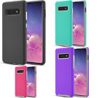 For Samsung Galaxy Alpha G850 Rubber Hybrid HARD Cover Snap Tail STAND Accessory