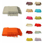 Riva Home Chiltern Woven Fringed Throw, 127 x 180 Cm