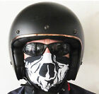 LS2 OF583 MATT BLACK OPEN FACE LOW PROFILE MOTORBIKE CUSTOM BOBBER HELMET NEW