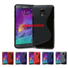 New S-Line Slim Soft TPU Gel Cover Case for Samsung Galaxy Note 4 N9100