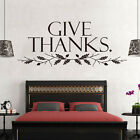 English Quote Bedroom Living Room Wall Sticker Vinyl Decal Removable Mural Decor
