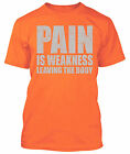 Beast Mode Pain is Weakness Leaving the Body Shirt Gym Workout Gear MMA Marines