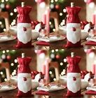 1 Pcs Xmas Santa Claus Wine Bottle Cover Christmas Dinner Party Table Decoration