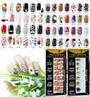 Self Adhesive Polish Foils Nail Art Decal Wraps Stickers Manicure Decoration DI