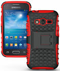 GRENADE GRIP RUGGED TPU SKIN HARD CASE COVER STAND FOR SAMSUNG GALAXY ACE-4 G313 on Rummage