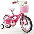 "ROYAL BABY MERMAID STYLE PRINCESS PINK GRIL'S BIKES IN SIZE 12"" 14"" 16"" & 18"""