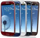 Samsung Galaxy S III SGH-I747 -16GB AT&T Smartphone-WHITE-BLUE-RED B