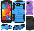 T-Mobile Samsung Galaxy Avant HYBRID KICKSTAND Rubber Silicone Case Phone Cover