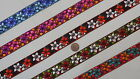 "3 Yd Jacquard Trim 1"" wide Woven Border Sew Embroidered Ribbon Lace T881"
