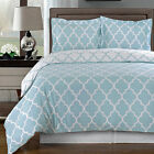 Meridian Blue 9PC Split-King Bed in a Bag 100%Egyptian Cotton