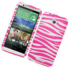 For HTC Desire 510 Rubberized HARD Protector Case Snap On Phone Cover Accessory